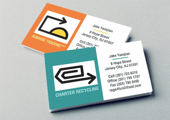 Business-Card-Design-Charter Recycling