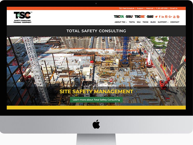 Website Design Safety Consulting Company