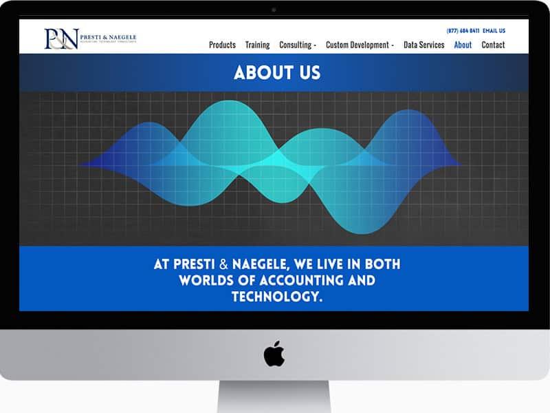 Website Design Tech Consulting Company
