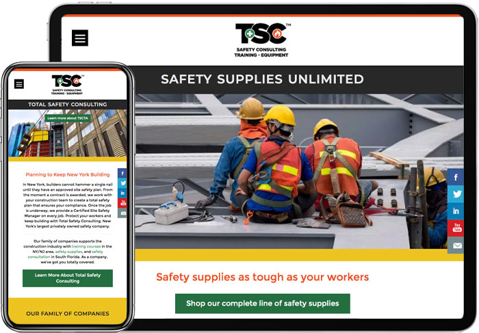 TSC Rebrand and Website Design - Network9